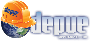 depue mechanical, inc logo